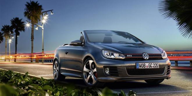 Volkswagen списал кабриолет Golf