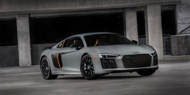 В Лос-Анджелесе покажут Audi R8 с лазерными фарами