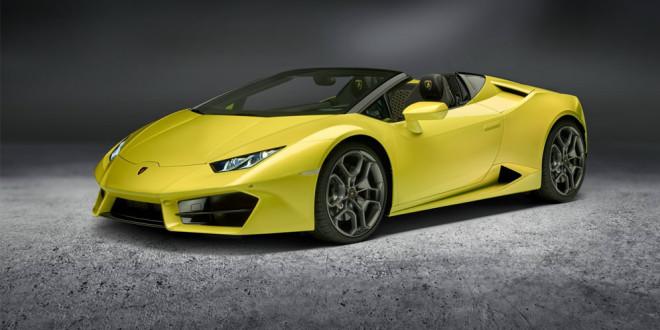 Родстер Lamborghini Huracan Spyder стал заднеприводным