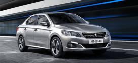 Дешевый седан Peugeot 301 обновился на 2017 год