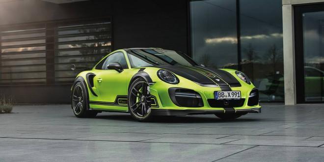 TechArt представил тюнинг Porsche 911 Turbo GTstreet R