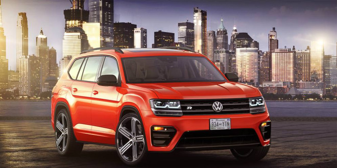 Фантазия на тему Volkswagen Atlas R