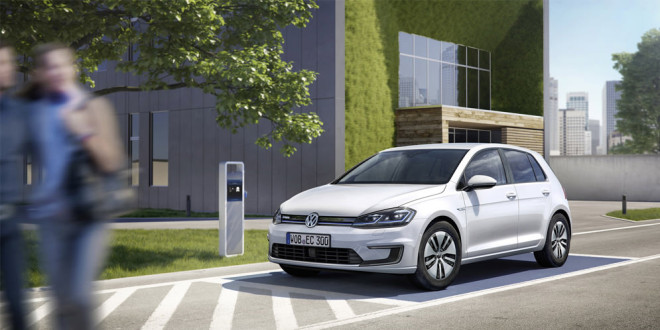 Volkswagen обновил электрический e-Golf