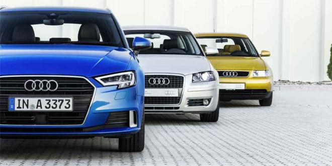 Audi A3 празднует 20-летие производства