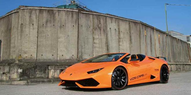 Родстер Lamborghini Huracan Spyder от Vision of Speed