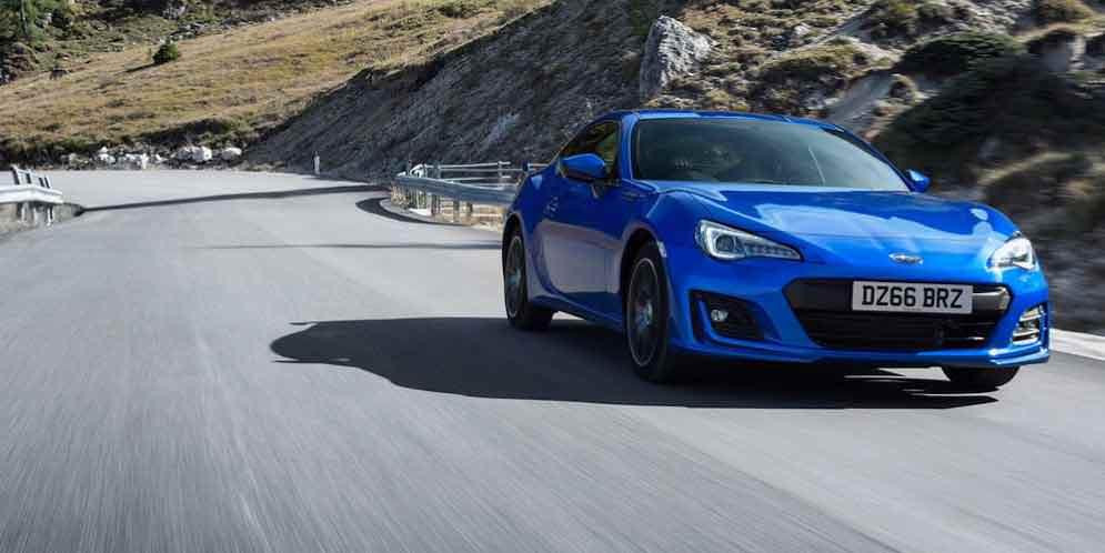 Купе Subaru BRZ обновилось на 2017 год