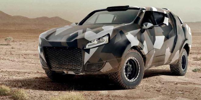 Прототип Volkswagen Korama в стиле «Безумного Макса»