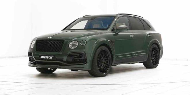 Bentley Bentayga приодели для военных в Startech