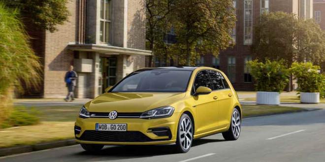 Рестайлинговый Volkswagen Golf получил пакет R-Line