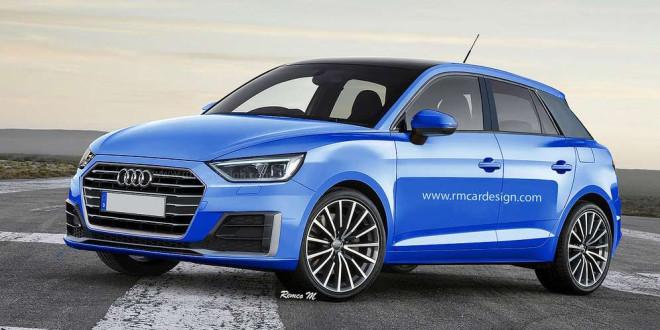 Audi A1 нового поколения, неофициально