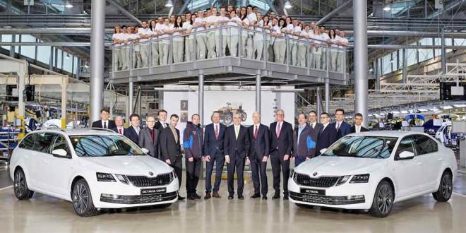 В Чехии началось производство обновленной Skoda Octavia