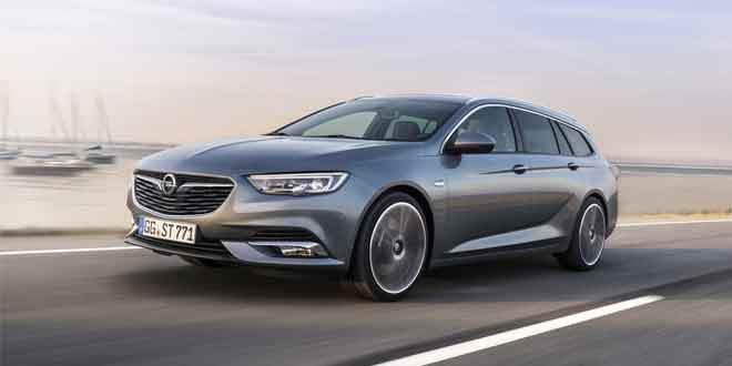 Новый Opel Insignia универсал стал больше