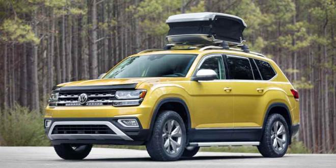 Volkswagen Atlas получил модификацию Weekend Edition