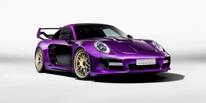 Gemballa привезла в Женеву 2017 три Porsche