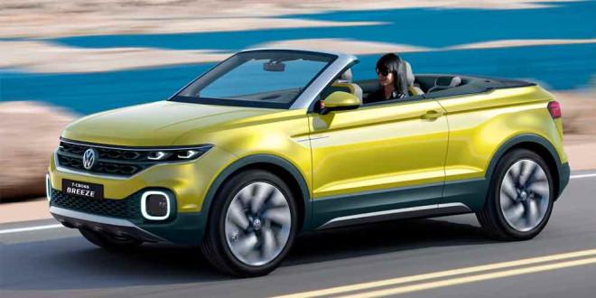 Маленький кроссовер Volkswagen на базе Polo выйдет в 2018 г.