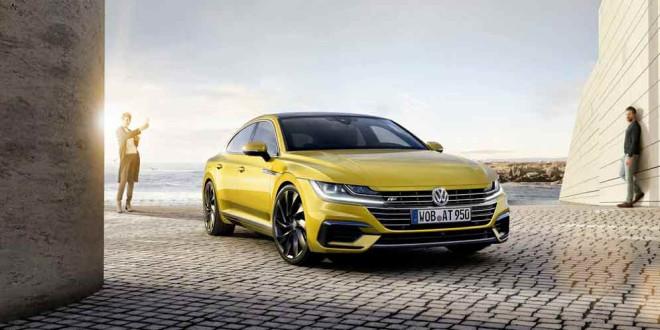 Купеобразный седан Volkswagen Arteon заменил Passat CC
