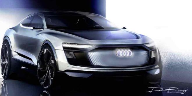 Марк Лихте приоткрыл дизайн Audi E-Tron Sportback Concept