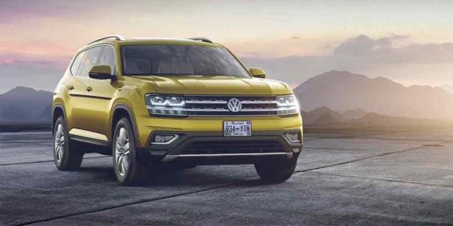 Озвучена цена Volkswagen Atlas: от $30 500 до $48 490