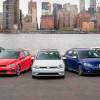 В Нью-Йорк едет вся семья VW Golf: Alltrack, GTI и R