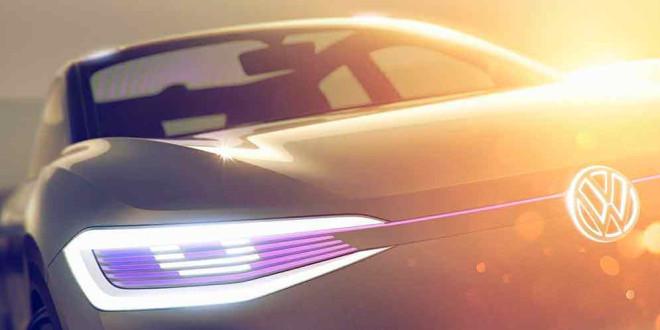 Volkswagen покажет электрический купе-кроссовер в Шанхае