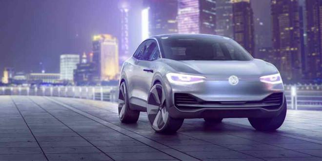 Volkswagen I.D. Crozz Concept официально в Шанхае