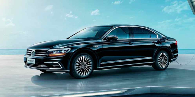 Гибридный Volkswagen Phideon PHEV показали в Шанхае