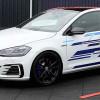 Мощный гибрид VW Golf GTE Concept прибыл на фестиваль GTI