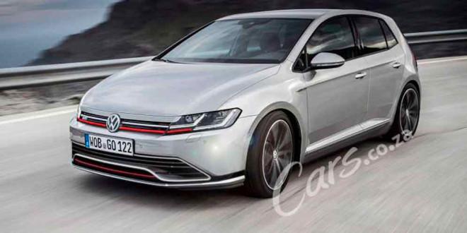 Фантазия на тему нового Volkswagen Golf GTI в духе Arteon