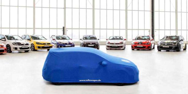 Новый Volkswagen Golf GTI от стажёров VW готов к дебюту