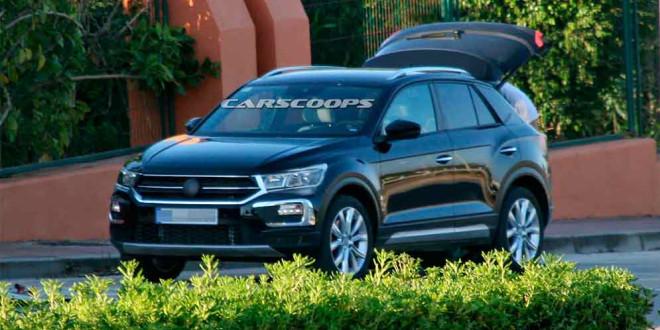 Volkswagen выпустит компактный и быстрый T-Roc R