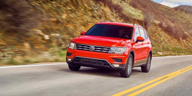 Озвучена цена Volkswagen Tiguan в США: от $25345
