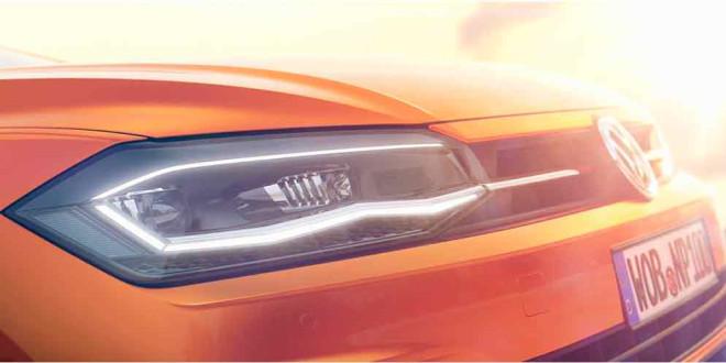 Новый VW Polo показал частичку себя перед дебютом в пятницу