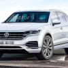 2018 Volkswagen Touareg: дизайн на основе шпионских фото