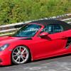 Новый Porsche Boxster GTS замечен на тестах в Нюрбургринге