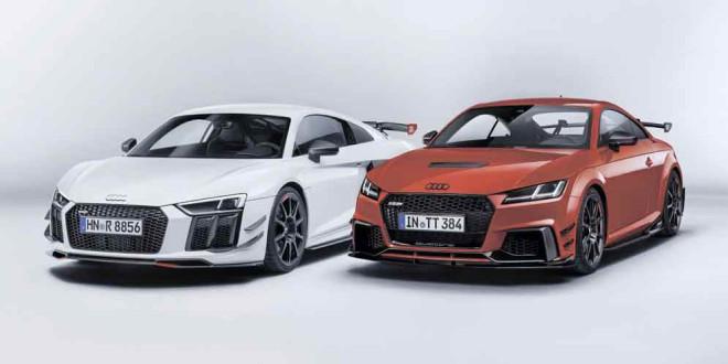 Audi R8 и TT RS получили новые наборы Performance
