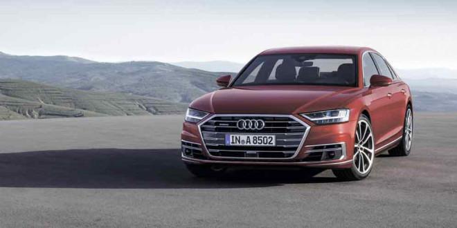 Новая Audi A8 в кузове D5 вышла официально