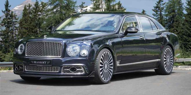 В Mansory подготовили тюнинг Bentley Mulsanne