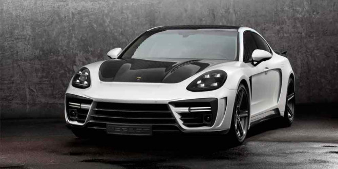 TopCar подготовил карбоновую диету для Porsche Panamera