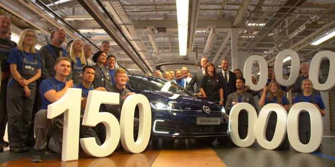 В Вольфсбурге с конвейера сошёл 150-миллионный Volkswagen
