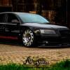 Старая Audi A8 D3 примерила фантастические колеса Radi8
