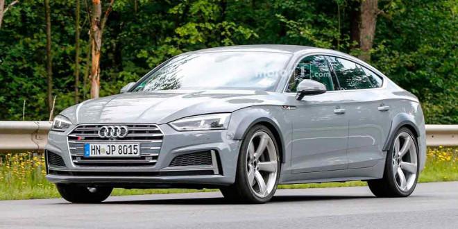 Новая Audi RS5 Sportback неожиданно замечена на тестах
