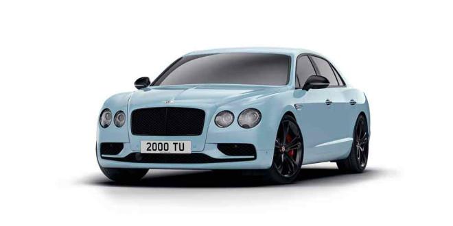 Вышла спецверсия Bentley Flying Spur V8 S Black Edition