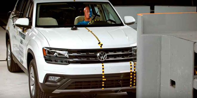 Volkswagen Atlas прошёл краш-тест IIHS. Почти отлично