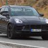 Рестайлинговый Porsche Macan 2018 проходит дорожные испытания