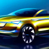 Вторая версия Skoda Vision E Concept мчит во Франкфурт 2017