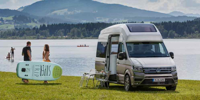Большой кемпер Volkswagen California XXL показали официально