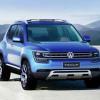 Volkswagen выпустит компактный кроссовер T-Track на базе Up!