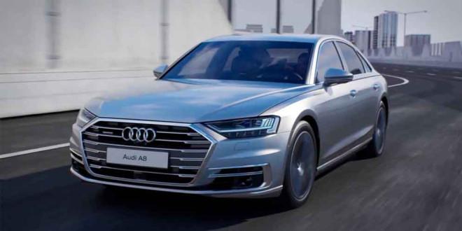 Известны сведения о двигателях в новой Audi A8