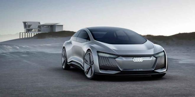 Audi Aicon Concept: прототип без руля и педалей на IAA-2017