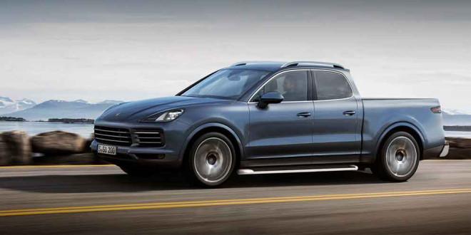 Пикап Porsche Cayenne: просто нужно сделать